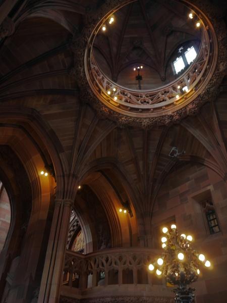 Inside John Rylands Library by stevept