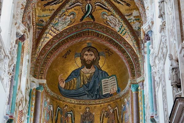 Cefalu Cathedral by Meditator