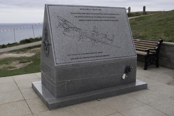 RAF Bomber Command Memorial, Beachy Head, East Sussex by SkySkape