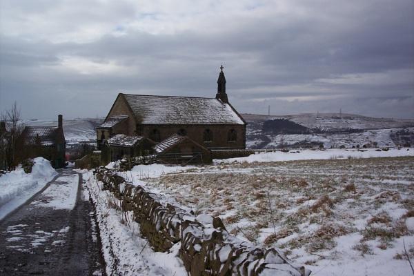 Church near Delph, Lancashire (27/2/2005)
