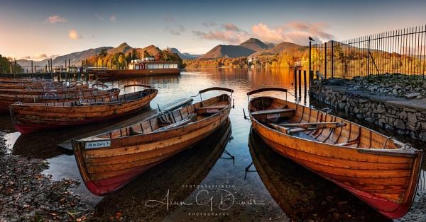 Derwent Water Boat Landings by Tynnwrlluniau