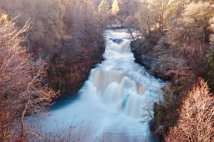 Corra Linn waterfall