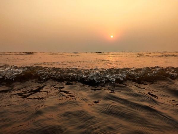 Sunset view by manazirhasan