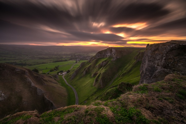 Winnats Pass Dawn by Legend147
