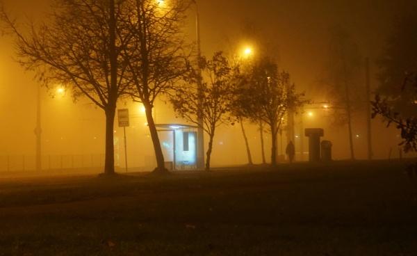 Misty night passer by SauliusR