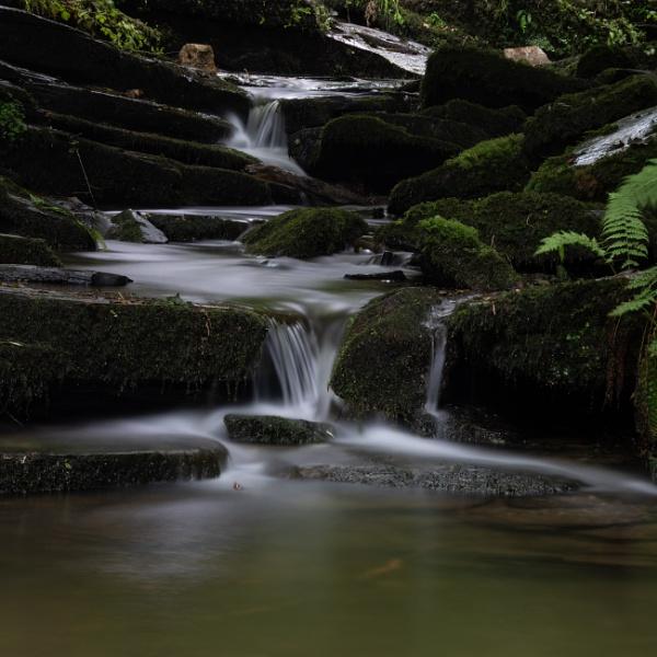 Falling Stream by Dxwnstxr