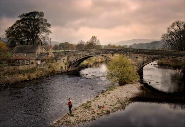 Fishing the River Wharfe by KingBee