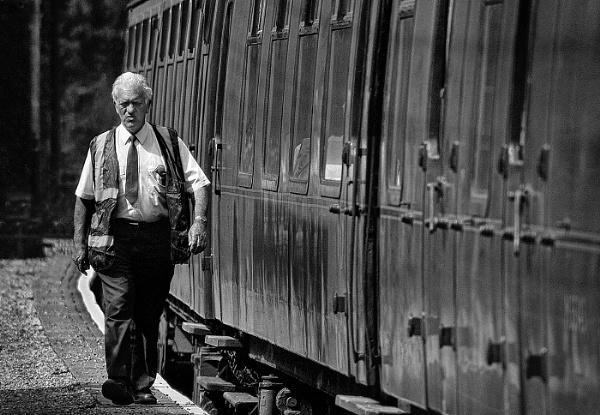 Train Guard by Zydeco_Joe