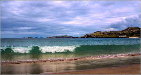 Scottish Beach by GlynnisFrith