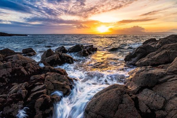 Liquid Sunset by douglasR