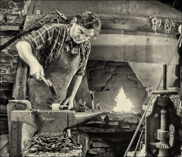 The blacksmith. by franken