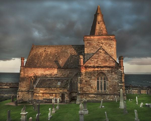 St Monan\'s Kirk by AndrewAlbert