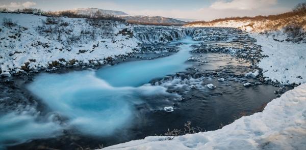 Bruarfoss, Iceland by BobShaw