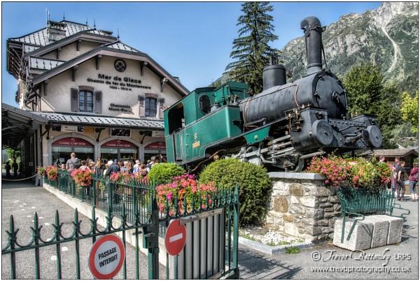 Chemin de fer du Montenvers by TrevBatWCC