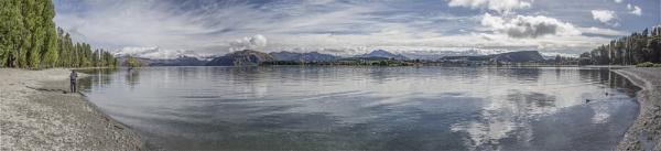 Lake Wanaka Panorama by pink