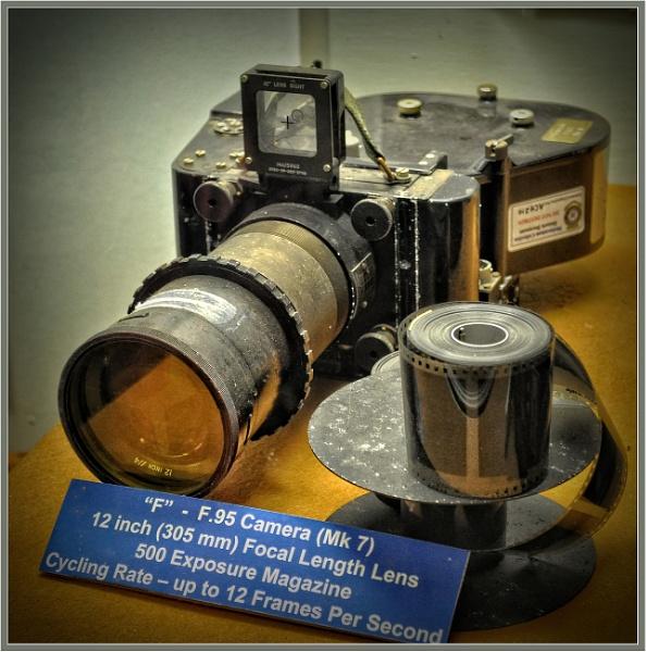 WW2 Aircraft Reconnaissance Camera by PhilT2