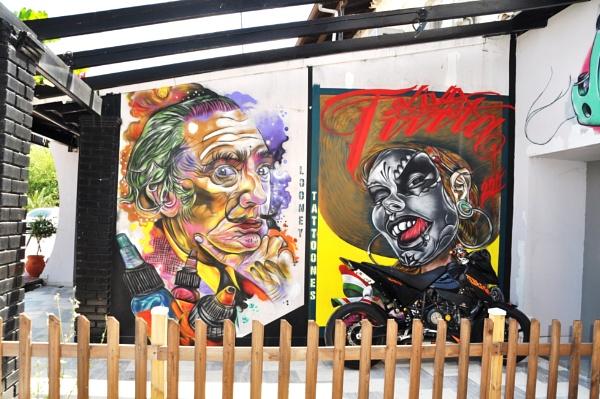 Corfu Urban art !!! by Chinga