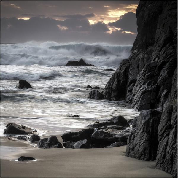 Fading light Mangersta Sands by PaulMillar