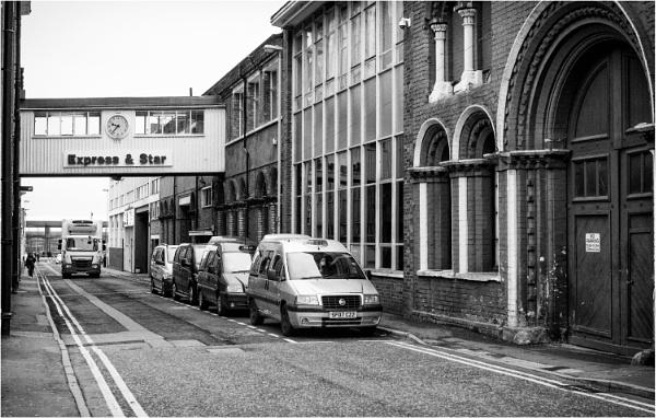 Newspaper Street by dark_lord