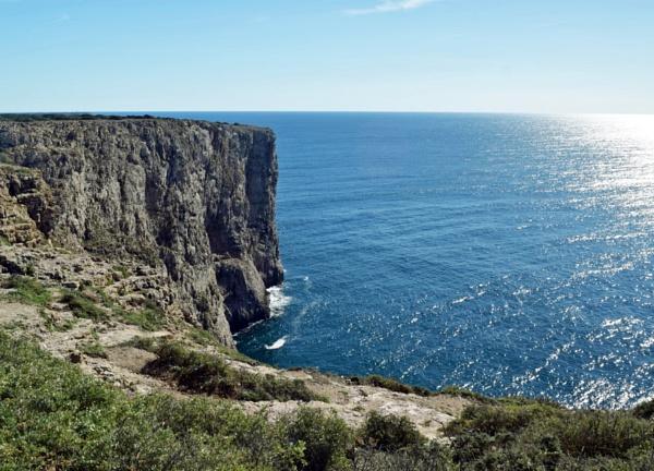 Sea Cliffs by voyger1010