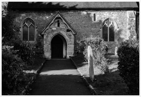 Shadows across the church by Nikonuser1