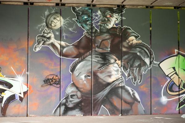 Grafitti Art by DennisBloodnok
