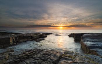 Dawn at Short Point, Merimbula, New South Wales