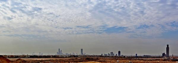 Panoramic City of Riyadh by Savvas511