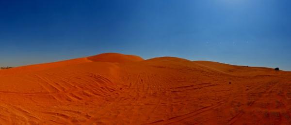 Panoramic Desert : Red sands by Savvas511