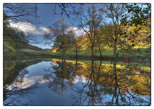 On Stourhead Estate, Wiltshire, England