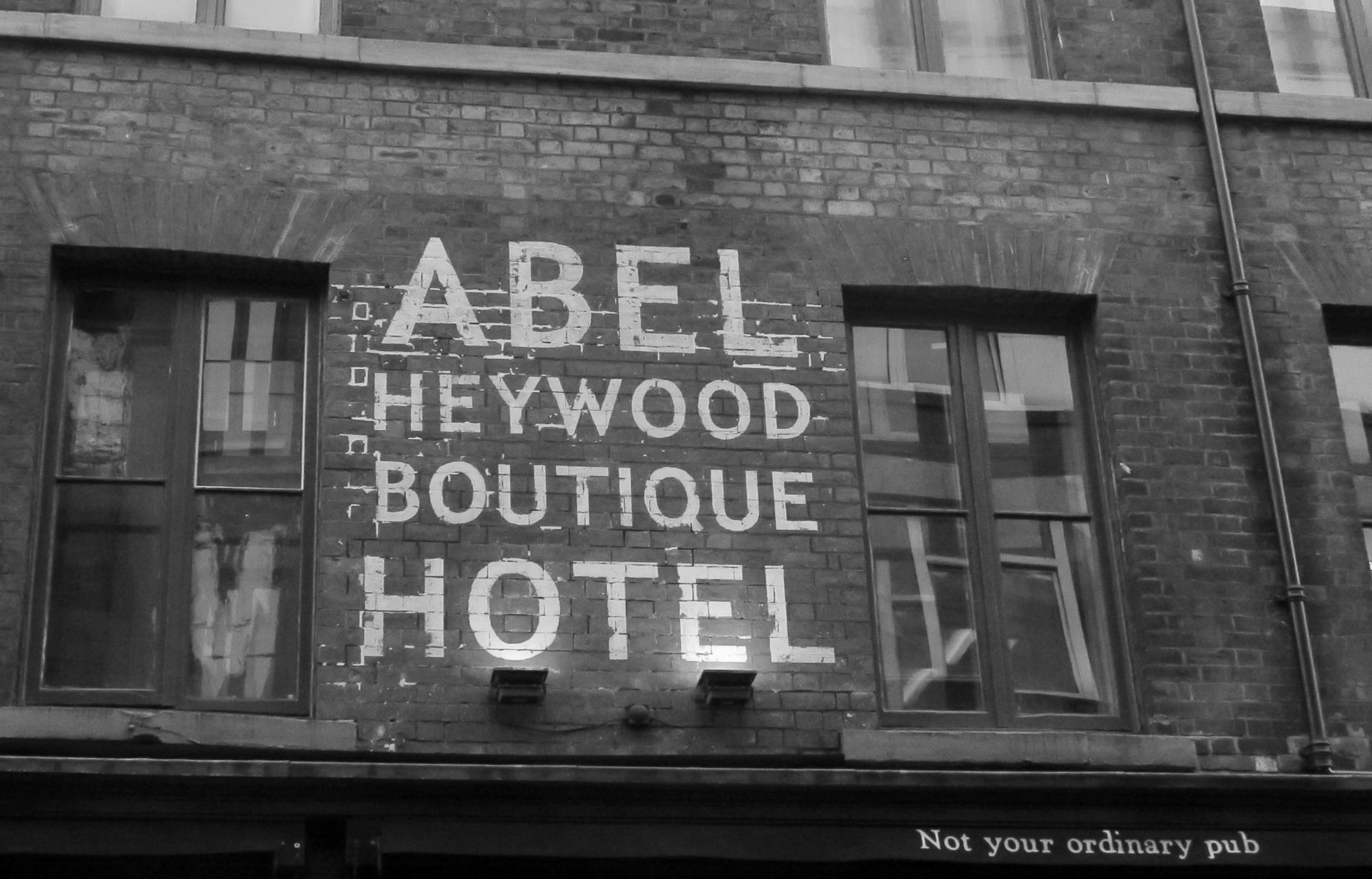 Abel Haywood, Manchester's  Northern Quarter