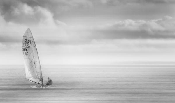 Lone Yachtsman by MAK2