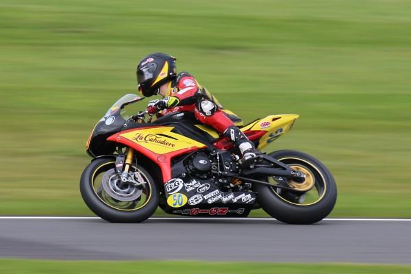 Triumphat Oulton Park by gregjones66