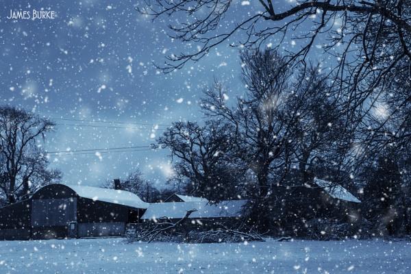 Winter Farm by jameswburke