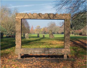 November in the park.