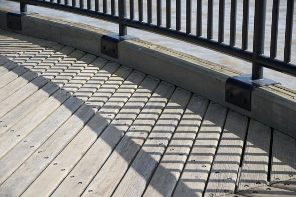 Boardwalk shadows by rambler