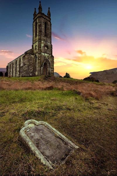 Dunlewey church. by patkelly
