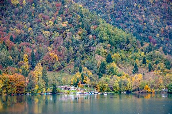 Lago d\'Idro Autumn View by Phil_Bird