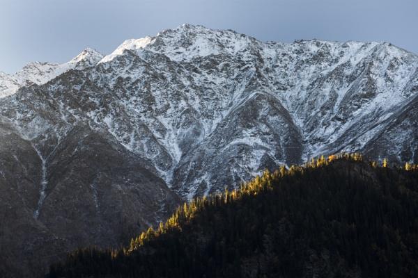 First light on Himalaya