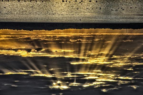 Inverted sunset by jbsaladino