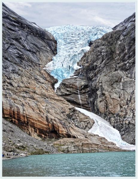 Briksdalsbreen Glacier - Norway by PhilT2