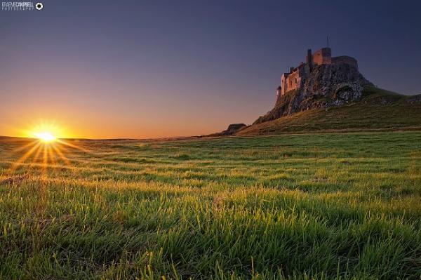 Lindisfarne Dawn by gcfotographos