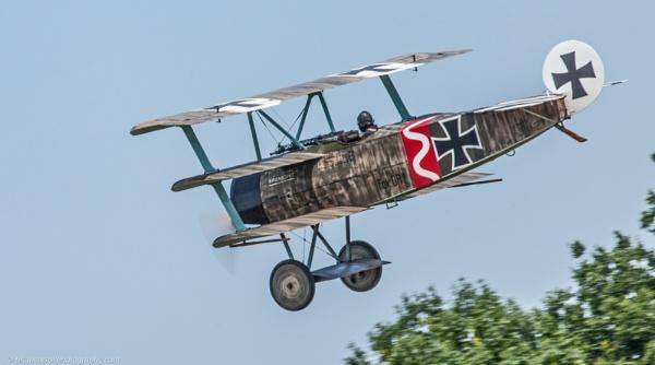 Fokker Triplane by brian17302