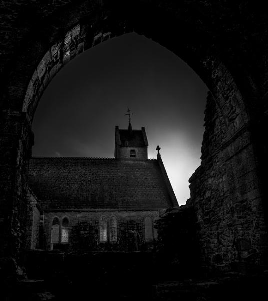 Abbey arch by Derek897