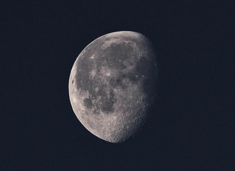 Moon - B&W