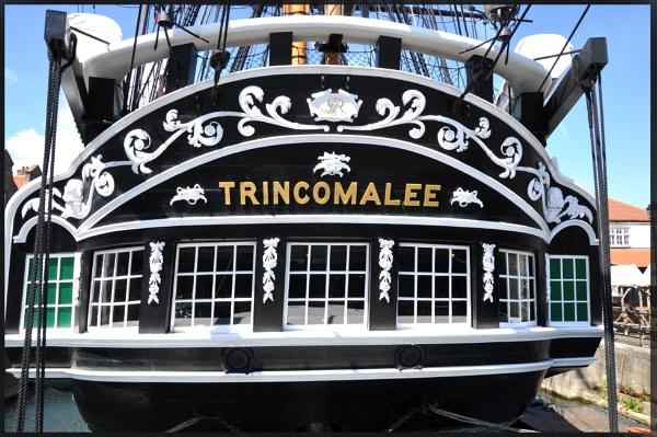 HMS TRINCOMALEE by mrtower
