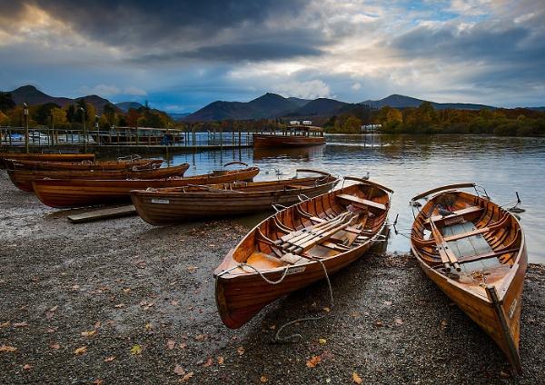 Derwent Water Boats by martin.w