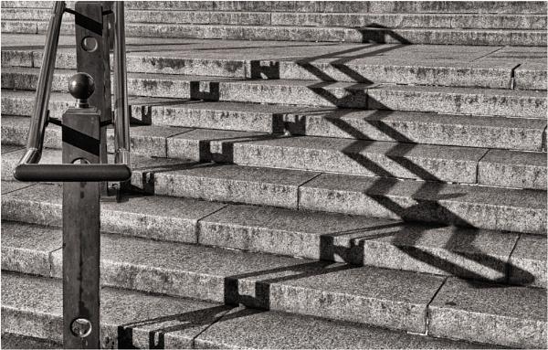 Museum steps. by franken