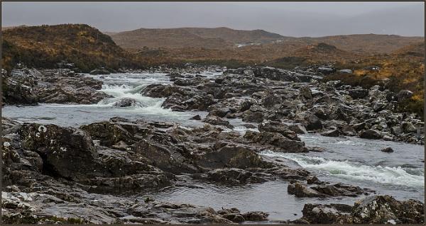 sligachan river isle od skye by ugly
