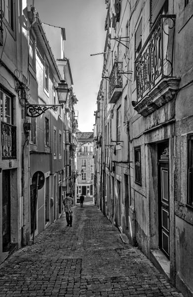A Street in Lisbon by nonur